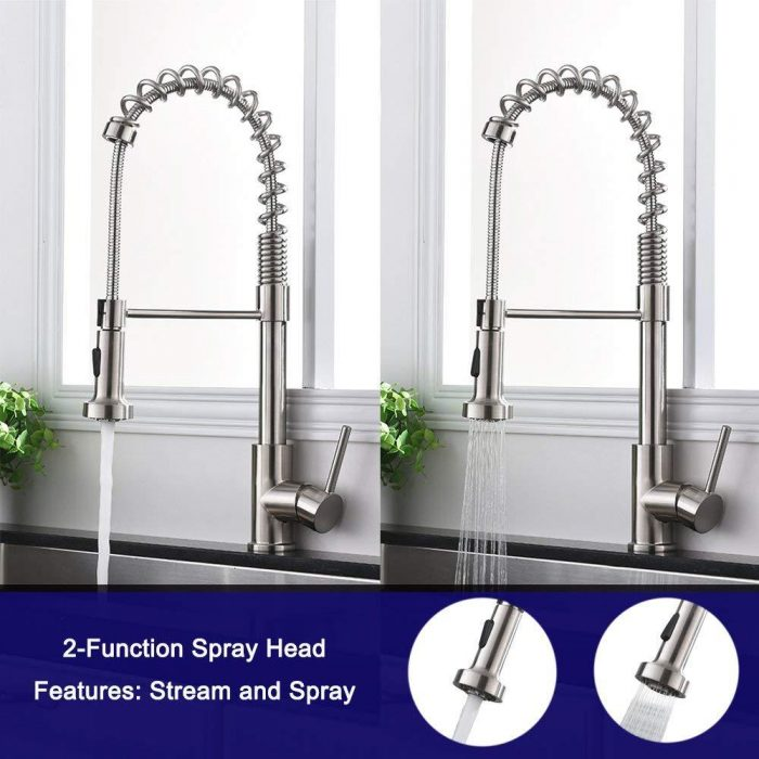 Pull Down Kitchen Sink Faucets