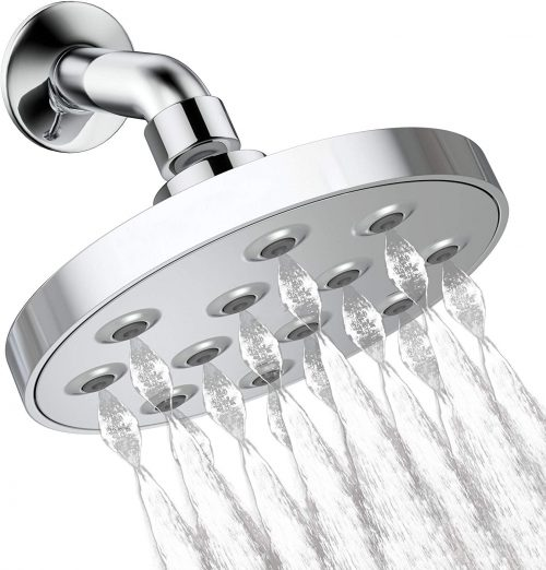"6"" POWER Rain Shower Head"